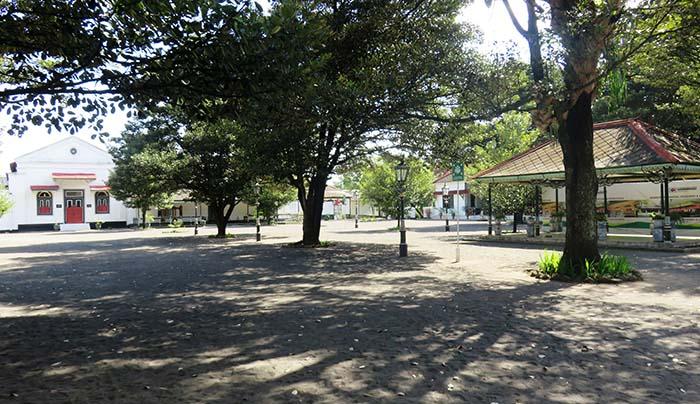 Keraton Yogyakarta yang Sepi