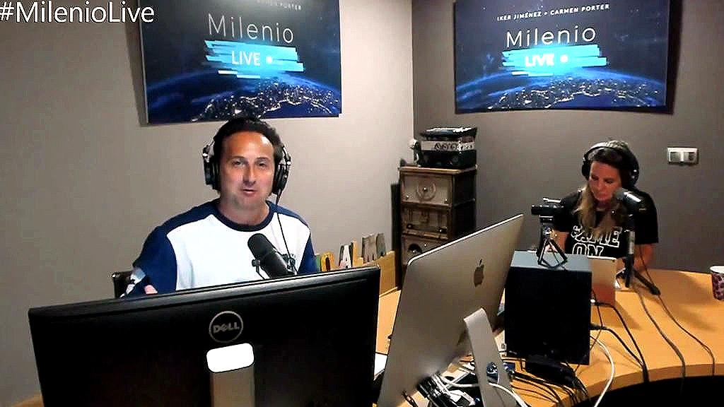 """Iker Jiménez: """"No es tele, ni radio, es otra cosa, es ..."""
