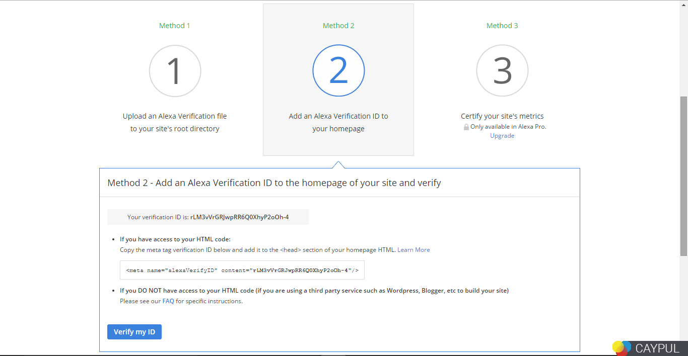 Cara Daftar Dan Verifikasi Alexa Yang Terbaru