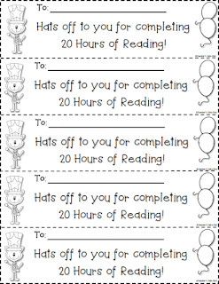 20 hour reading certificate