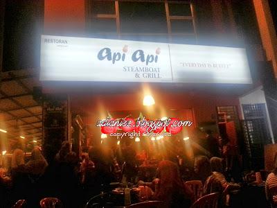 Api-Api Steamboat & Grill | Singgah Melaka, wajib singgah makan-makan sini