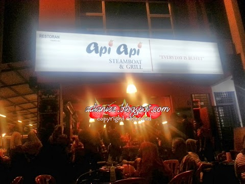 Api-Api Steamboat & Grill   Singgah Melaka, wajib singgah makan-makan sini