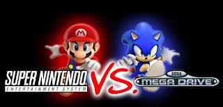 Guerra de las consolas - Mega Drive vs SNES