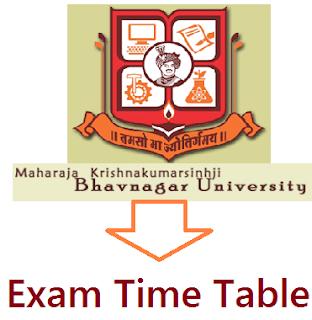 Bhavnagar University Time Table March/April 2020
