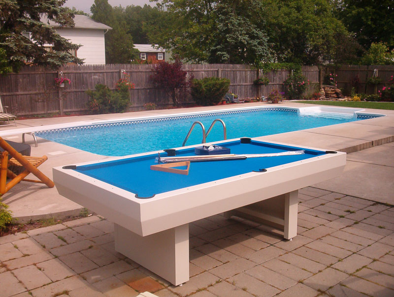 Gameroom concepts outdoor pool table and buying tips for Garden pool table room