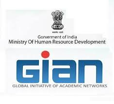 First Course Under GIAN Program Launched