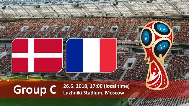 موعد مباراة فرنسا والدنمارك France vs Denmark في مونديال 2018 في روسيا