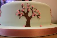 Japanese blossom tree icing