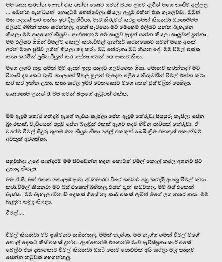 Sinhala Sex Stories !!!: සුභානි 5