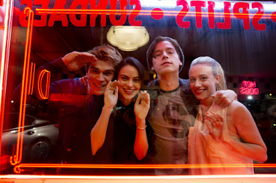 Image of Cole Sprouse, Lili Reinhart, Camila Mendes and K.J. Apa in Riverdale (11)