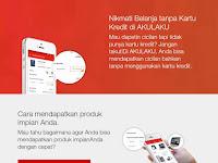 Cara Baru Kredit Tanpa Kartu Kredit Menggunakan Aplikasi AKULAKU