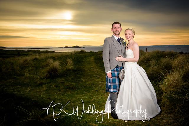 The Marine Hotel North Berwick Wedding Photography