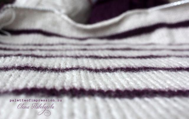 Проект '17: рабочее место [52] Мохеровый свитер в полоску Блог Вся палитра впечатлений