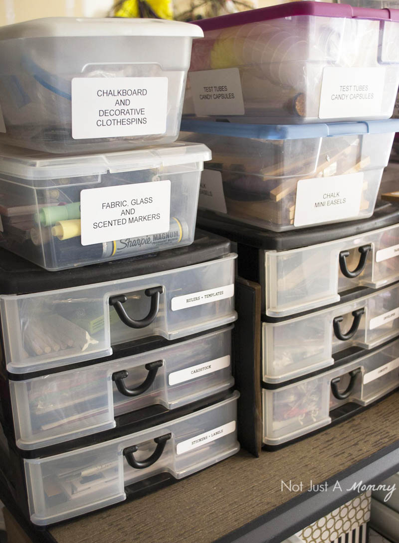 Getting prop and supply bins organized with DYMO LabelWriter