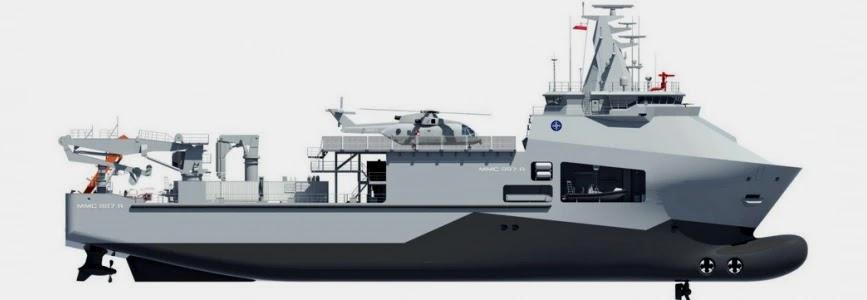 Польща поновлює проєкт рятувального судна ВМС
