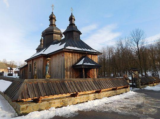 Cerkiew prawosławna pw. Świętych Kosmy i Damiana w Bartnem.