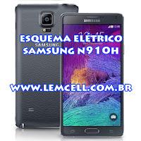 Esquema Elétrico Celular Smartphone Samsung Galaxy Note 4 SM N910 H Manual de Serviço  Service Manual schematic Diagram Cell Phone Smartphone Samsung Galaxy Note 4 SM N910 H