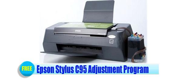 Epson Stylus C95 Adjustment Program