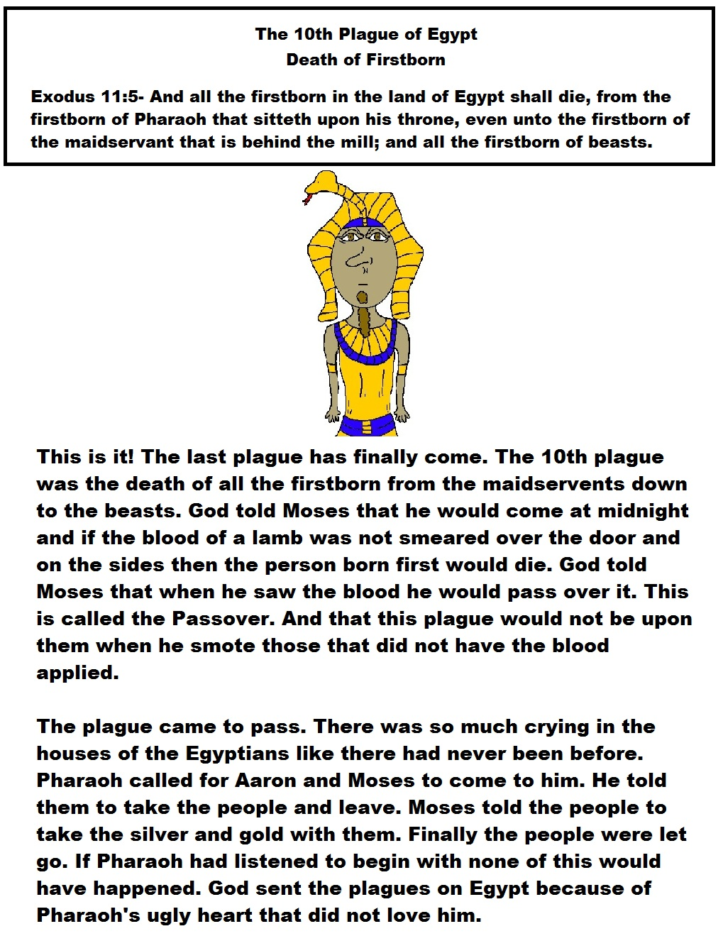 Church house collection blog ten plagues of egypt death of firstborn