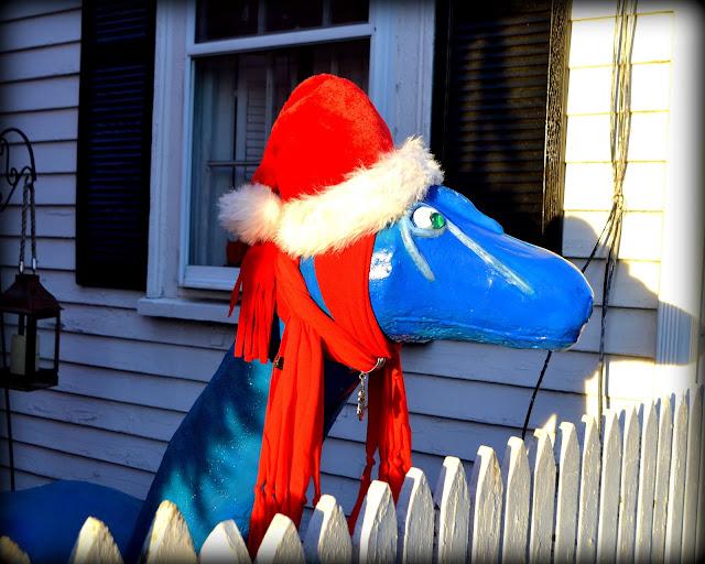 Loch Ness, Monster, Salem, Massachusetts, shriadow, christmas