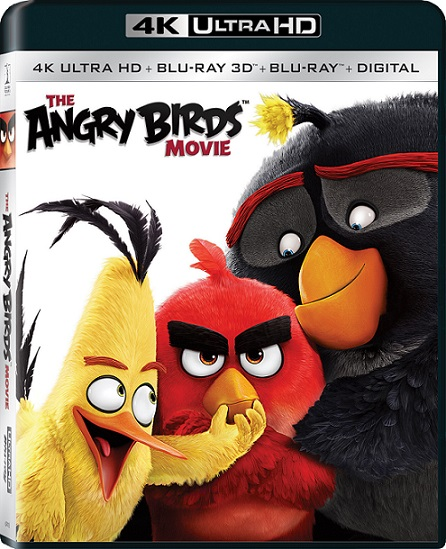 Angry Birds: La Película 4K (2016) 2160p 4K UltraHD HDR BDRip 9.4GB mkv Dual Audio DTS 5.1 ch