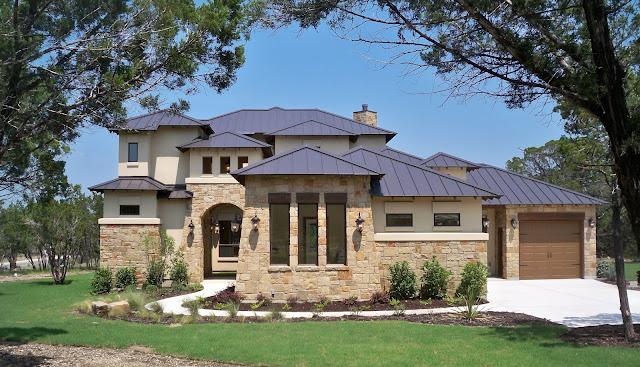Dinding Rumah Full Batu Alam
