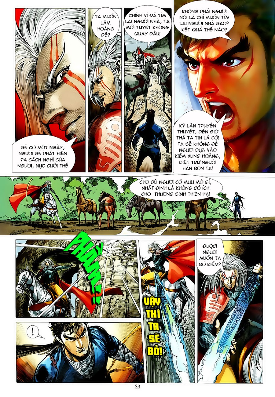truyện tranh thiết tướng tung hoành Chapter 6/