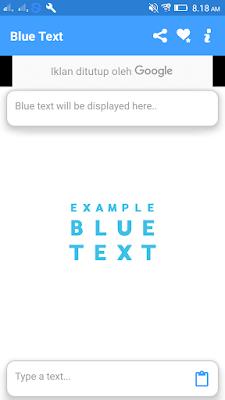 Membuat Text Berwarna di WhasApp
