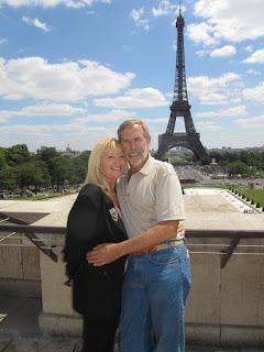 Wayne Pat Dunlap Eiffel Tower Paris France