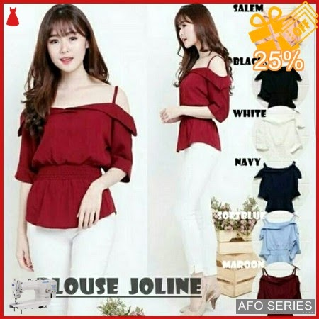 AFO258 Model Fashion Blouse Joline Modis Murah BMGShop
