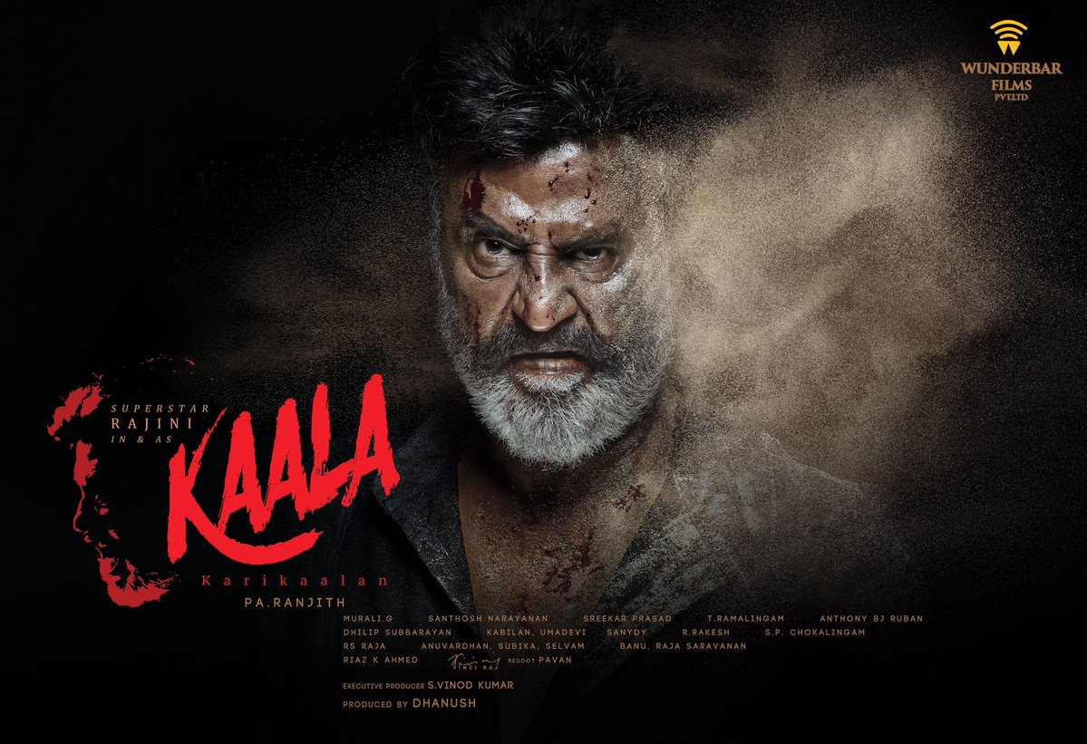 Rajinikanth's Kaala Movie New Official Poster