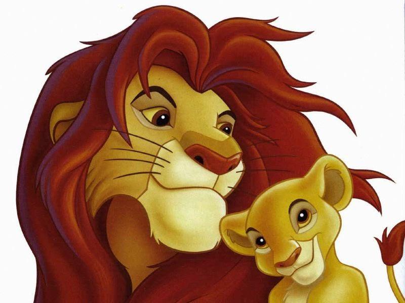 Cuentos Infantiles: El Rey León Para Colorear. Dibujos