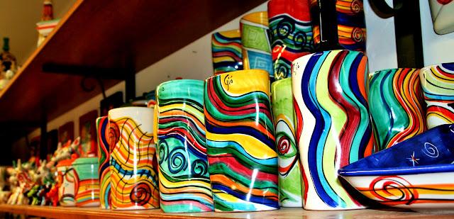 vasi, colori,