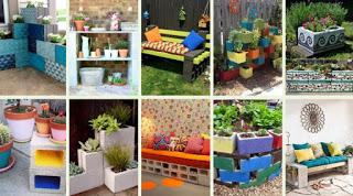 Κατασκευές από Τσιμεντόλιθους για τον κήπο ή το μπαλκόνι σας