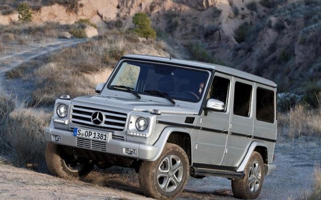 Mercedes GLG-Class Design