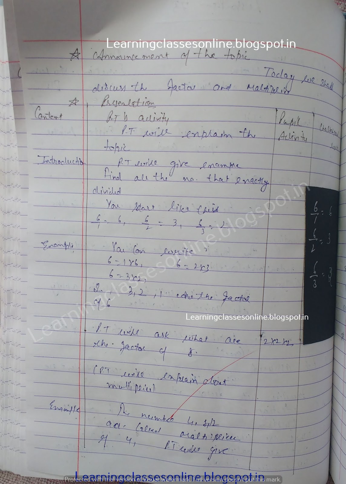 Detailed Lesson Plan In Secondary Mathematics,