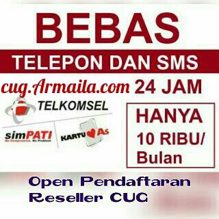 Join Member Reseller Telkomsel CUG Armaila - KLIK DISINI