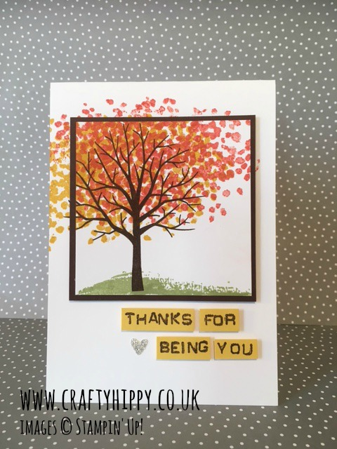 Sheltering Tree, Stampin' Up!