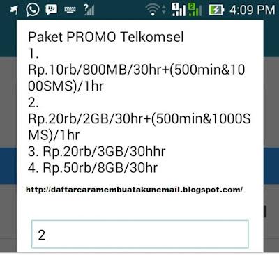 Cara Daftar Paket Internet Telkomsel Murah Promo Bulan Ramadhan Terbaru