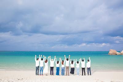 沖縄 三世代 旅行 写真