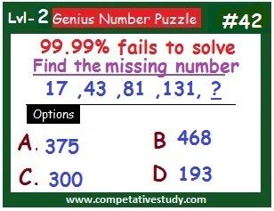 Number Puzzles: Logic Puzzles #42