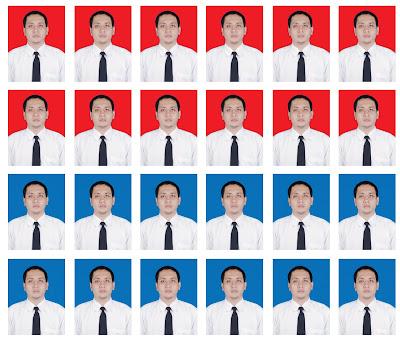 Aturan Penggunaan Warna Background Merah Biru Foto Ktp Ditujukan Lahir