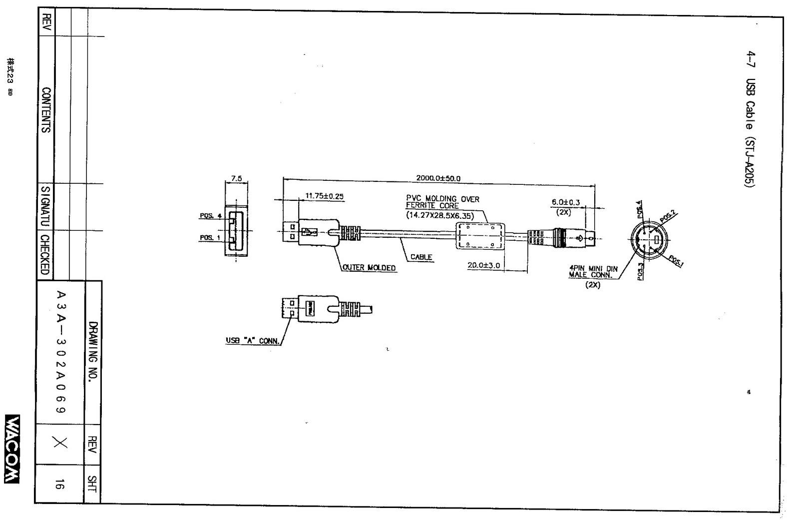 S Video Cable Diagram Jvc Kd R650 Car Stereo Wiring Mongadillo Blog Make Your Own Wacom Cintiq 15 Usb