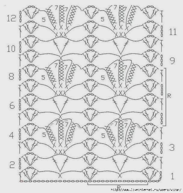 Crochet: SCHEMES, PATTERNS