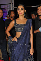 Pooja Hegde choli saree at DJ Duvvada Jaggannadham music launch ~  Exclusive 124.jpg