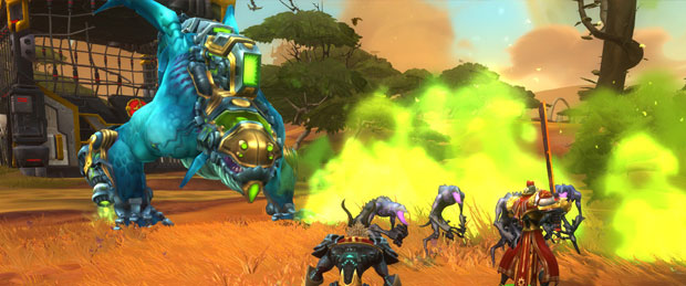 WildStar Stage Demo - SDCC 2013