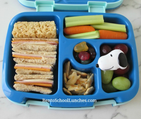 Simple sandwiches school lunch in leak proof Bentgo lunchbox