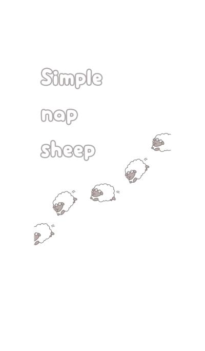Simple nap sheep