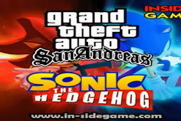 GTA San Andreas Mod Sonic The Hedgehog - PS2