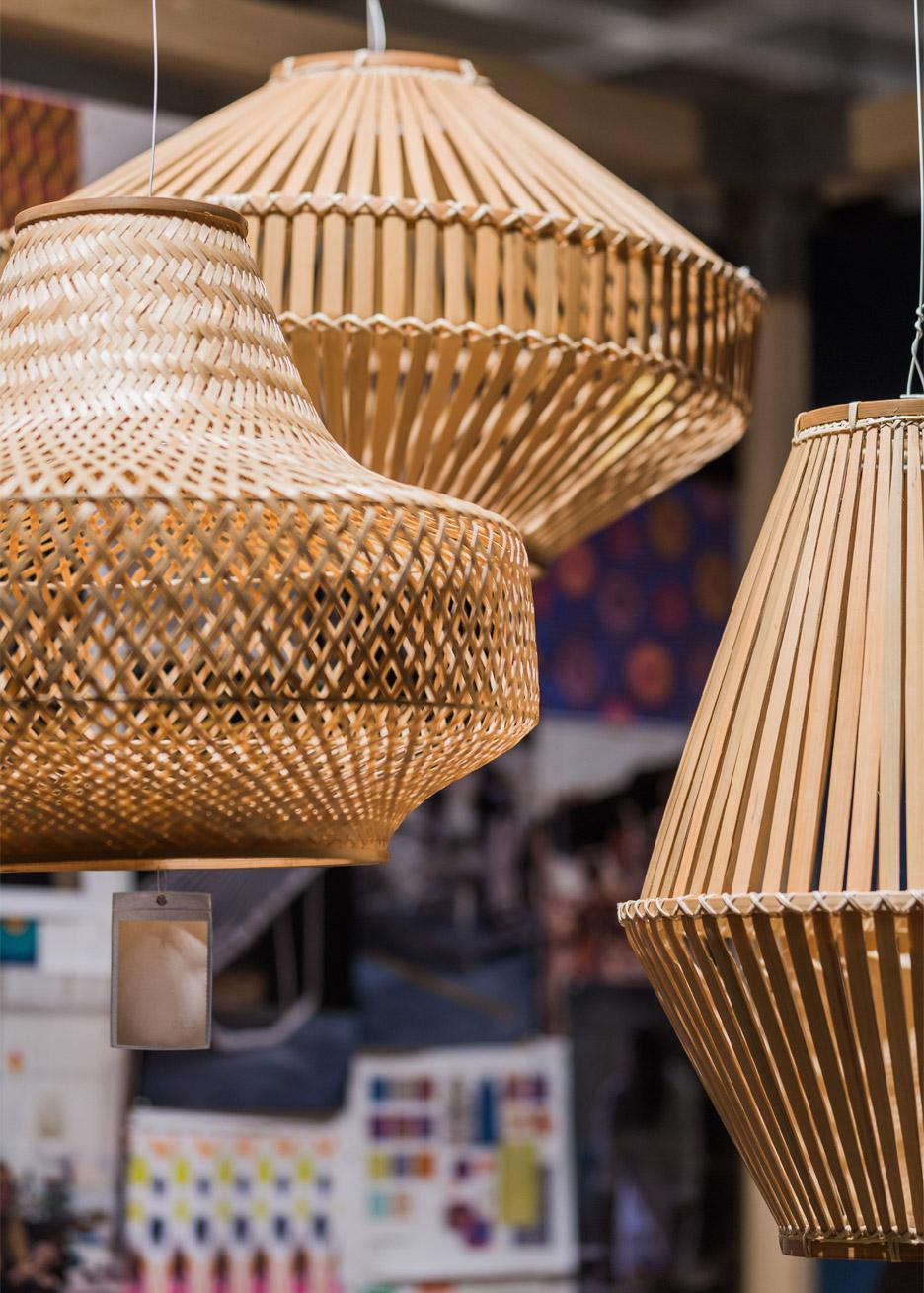 Bamboo Basket Decoration Indian